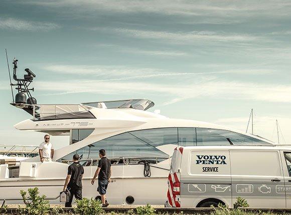 Servicio técnico Volvo Penta