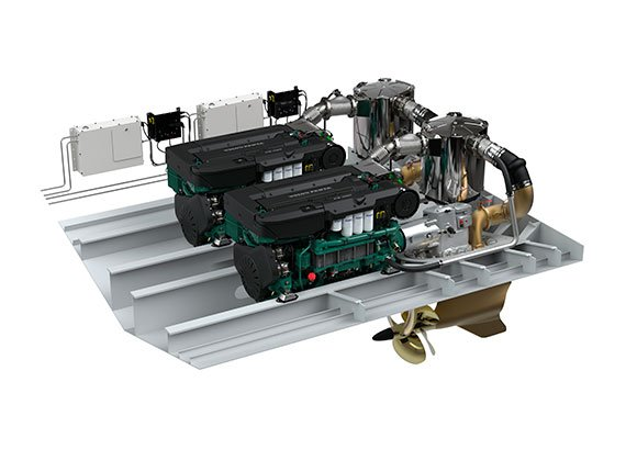 Instalación de motores con transmisión IPS