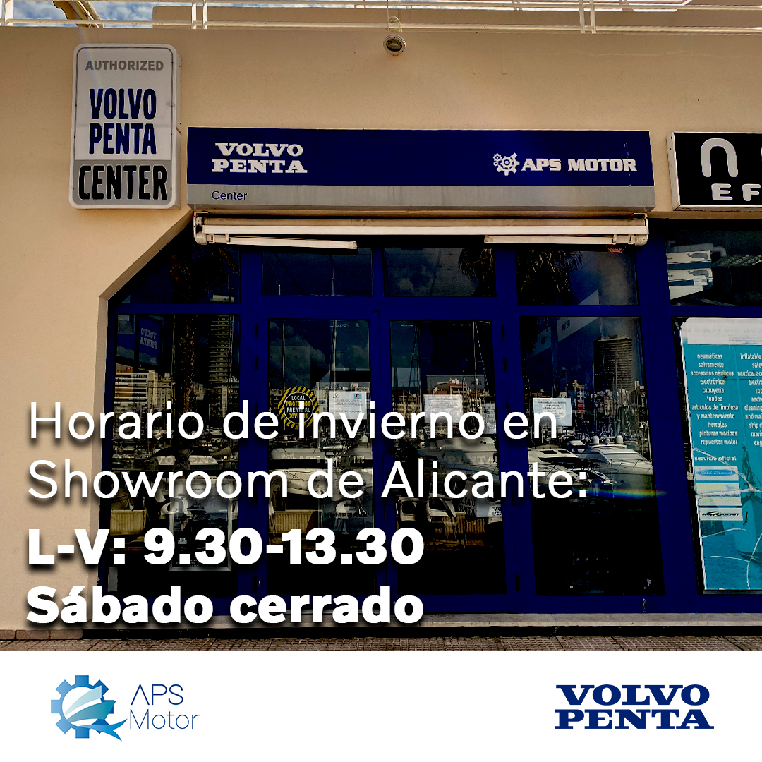 HorarioDeInviernoShowroom